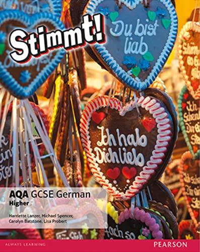 9781292118185: Stimmt! AQA GCSE German Higher Student Book