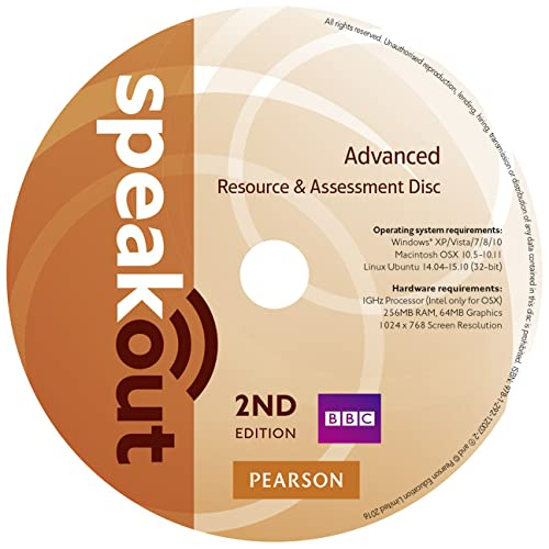 9781292120072: Speakout Advanced 2nd Edition Resource & Assessment Disc for Pack