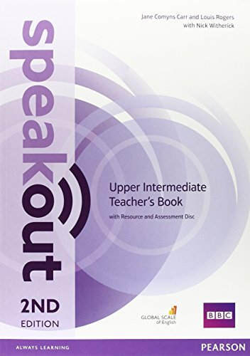 9781292120188: Speakout Upper Intermediate 2nd Edition Teacher's Guide with Resource & Assessment Disc Pack