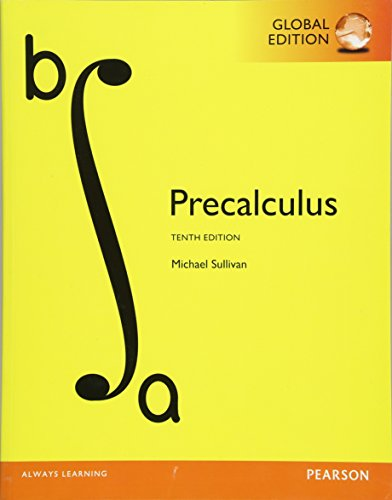 9781292121772: PreCalculus, Global Edition