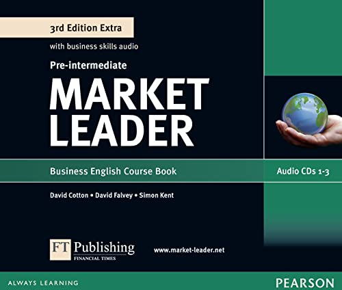 Market Leader Extra Pre-Intermediate Class Audio CD: Clare Walsh