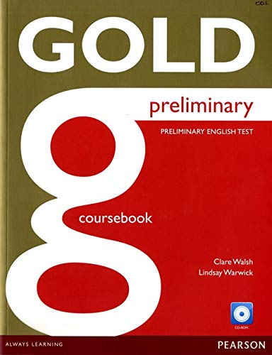 9781292124933: Gold Preliminary Coursebook with CD-ROM Pack