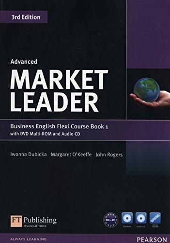 9781292126067: Market leader. Advanced. Flexy. Per le Scuole superiori. Con DVD-ROM. Con espansione online (Vol. 1)