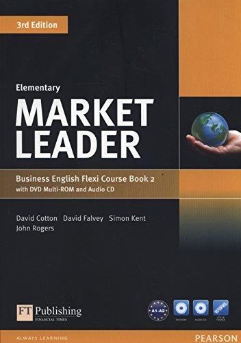 9781292126098: Market leader. Elementary. Coursebook. Ediz. flexi. Per le Scuole superiori. Con espansione online. Con CD-Audio. Con DVD-ROM: 2
