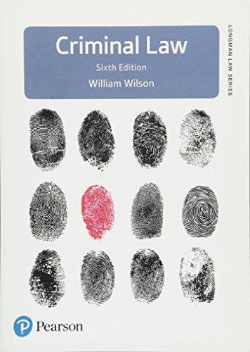 9781292129051: Criminal Law (Longman Law Series)
