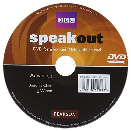 9781292129723: Speakout Advanced DVD with eText & MEL Student Online Access Codes Pack