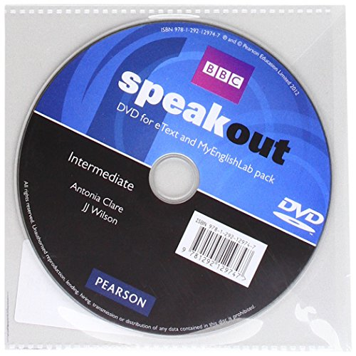 9781292129747: Speakout Intermediate DVD with eText & MEL Student Online Access Codes Pack