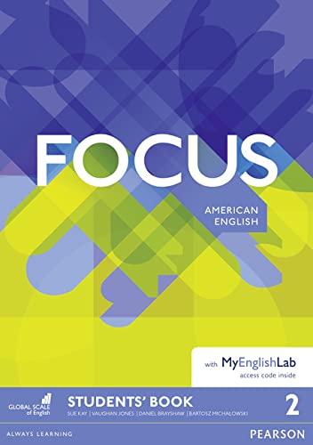 9781292129914: Focus AmE 2 Students' Book & MyEnglishLab Pack