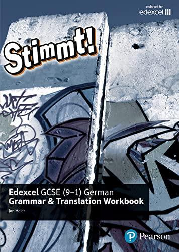 9781292132730: Stimmt! Edexcel GCSE German Grammar and Translation Workbook