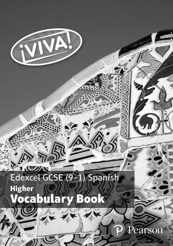 9781292133485: Viva! Edexcel GCSE Spanish Higher Vocab Book PACK