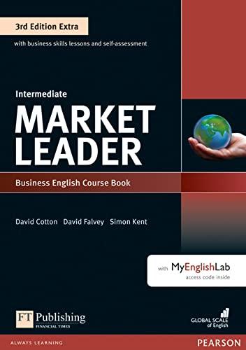 9781292134765: Market leader. Intermediate. Coursebook. Per le Scuole superiori. Con espansione online. Con DVD-ROM