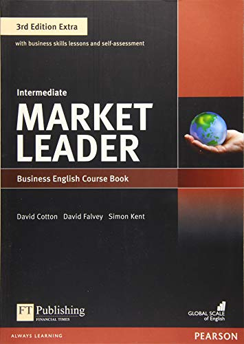 9781292134772: Market Leader Extra Intermediate Coursebook with DVD-ROM Pin Pack