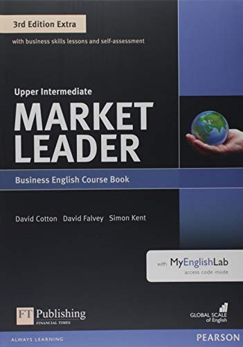 9781292134802: Market Leader Extra Upper Intermediate Coursebook with DVD-ROM and MyEnglishLab Pack [Lingua inglese]