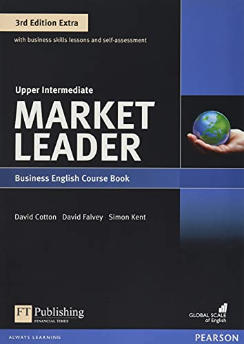 9781292134819: Market Leader Extra 3rd Edition Upper Intermediate Coursebook with DVD-ROM Pin Pack