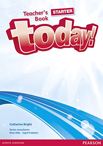 9781292134956: Today! Starter Teacher's Book and DVD Pack