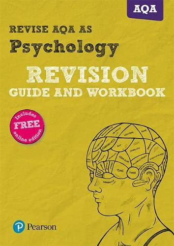 9781292139272: Revise AQA AS Level Psychology Revision Guide and Workbook: with FREE online edition (REVISE AS/A level AQA Psychology)