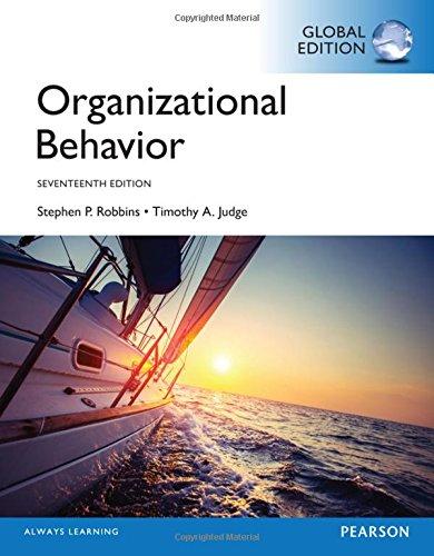 9781292146300: Organizational Behavior, Global Edition