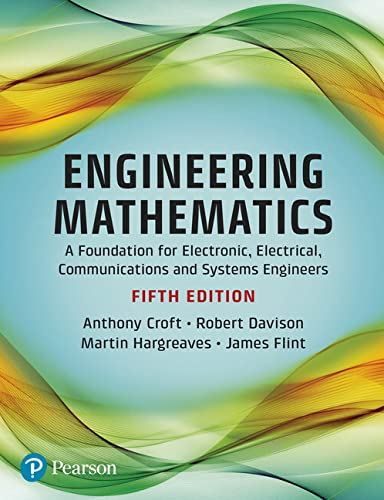 Engineering Mathematics: Dr Anthony Croft
