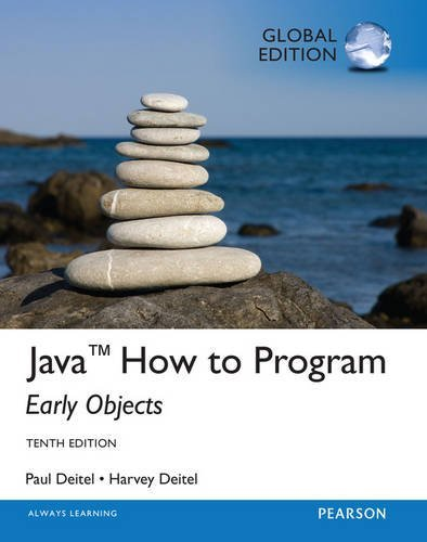 9781292146751: Java How To Program (early objects) with MyProgrammingLab, Global Edition