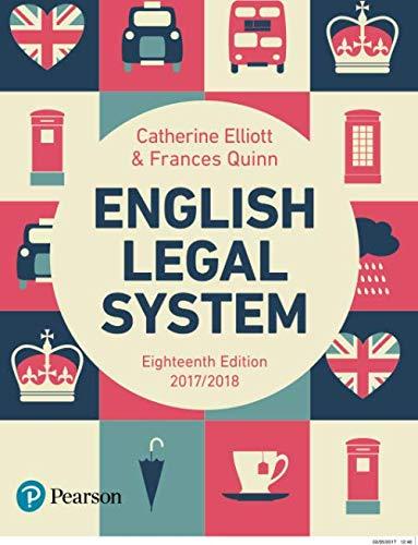9781292146911: English Legal System