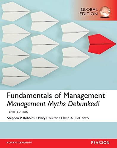 9781292146942: Fundamentals of Management: Management Myths Debunked!, Global Edition