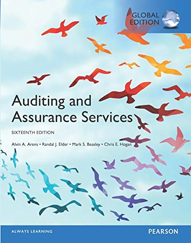 9781292147871: Auditing and Assurance Services, Global Edition