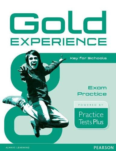 9781292148373: Gold Experience Practice Tests Plus Key for Schools