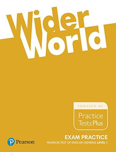 Wider World Exam Practice: Pearson Tests of: Liz Kilbey, Marta