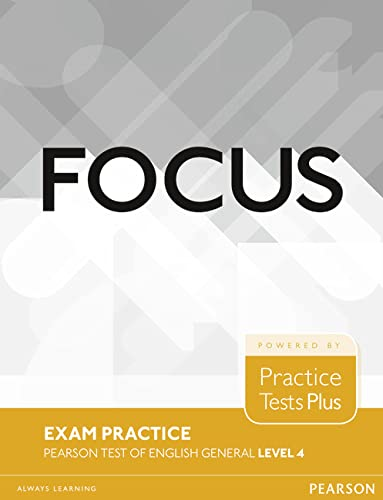 9781292148908: Focus Exam Practice: Pearson Tests of English General Level 4(C1)