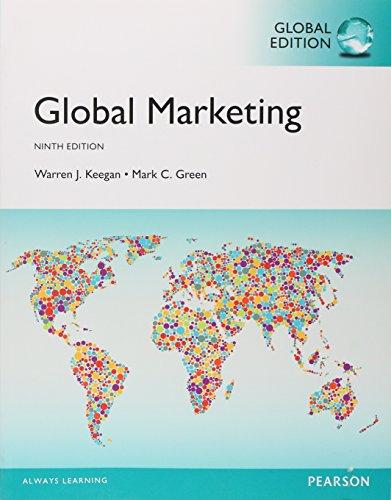 9781292150765: Global Marketing