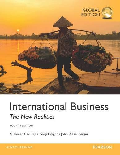 9781292152837: International Business: The New Realities, Global Edition