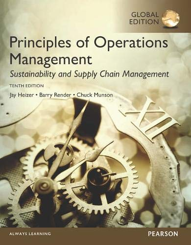 9781292153018: Principles of Operations Management: Sustainability and Supply Chain Management, Global Edition