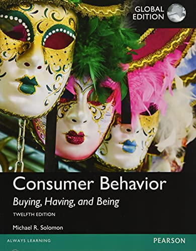 9781292153100: Consumer Behavior: Buying, Having, and Being