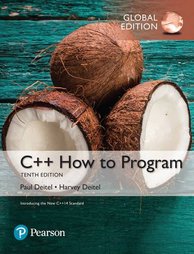 9781292153346: C++ How to Program (Early Objects Version), Global Edition