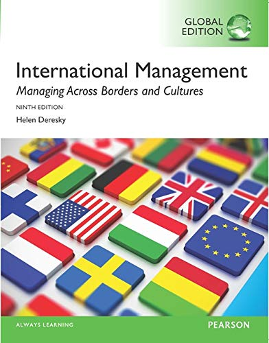 9781292153537: International Management: Managing Across Borders and Cultures, Text and Cases, Global Edition