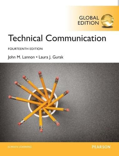 9781292154299: Technical Communication, Global Edition