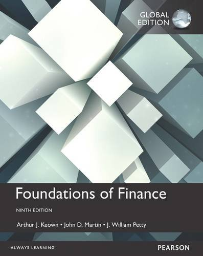 9781292155135: Foundations of Finance, Global Edition