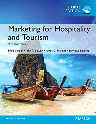 9781292156156: Marketing for Hospitality and Tourism, Global Edition