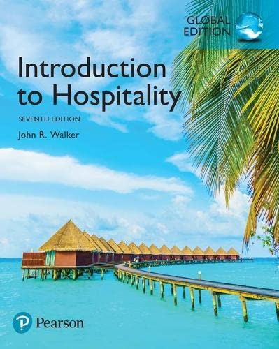 9781292157597: Introduction to Hospitality, Global Edition