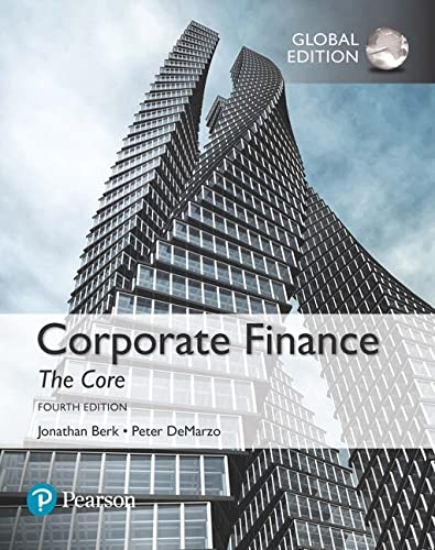corporate finance global edition berk demarzo pdf