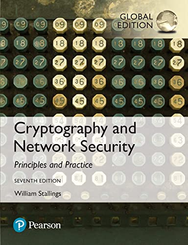 9781292158587: Cryptography and Network Security: Principles and Practice, Global Edition