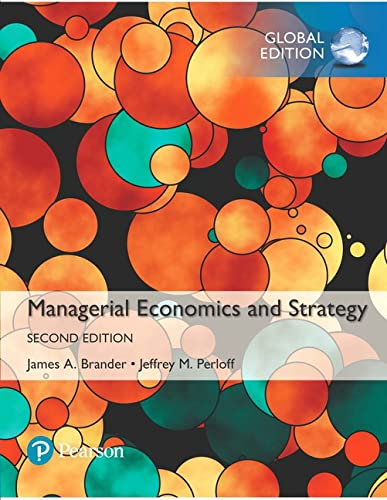 9781292159140: Managerial Economics and Strategy, Global Edition