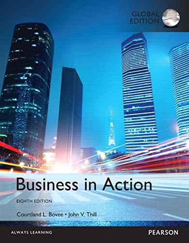 9781292160634: Business in Action, Global Edition