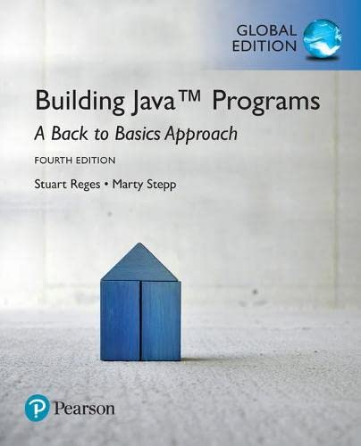 9781292161686: Building Java Programs: A Back to Basics Approach