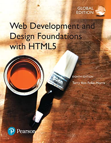 9781292164076: Web Development and Design Foundations with HTML5, Global Edition