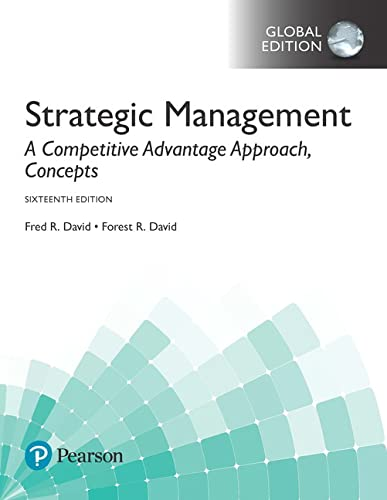 9781292164977: Strategic Management: A Competitive Advantage Approach, Concepts, Global Edition