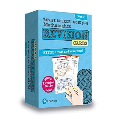 9781292173221: REVISE Edexcel GCSE (9-1) Mathematics Higher Revision Cards: includes FREE online Revision Guide (REVISE Edexcel GCSE Maths 2015)