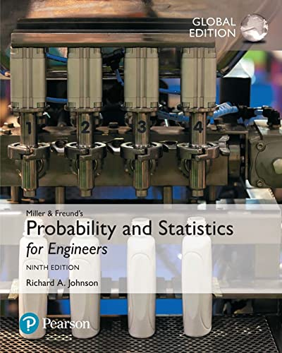 9781292176017: Miller & Freund's Probability and Statistics for Engineers, Global Edition
