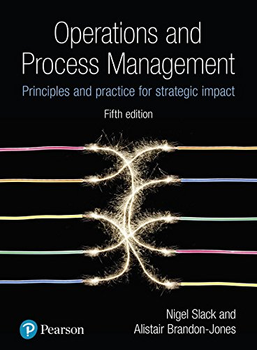 9781292176130: Operations & Process Management: Principles & Practice for Strategic Impact