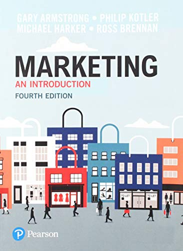 9781292200309: Marketing An Introduction